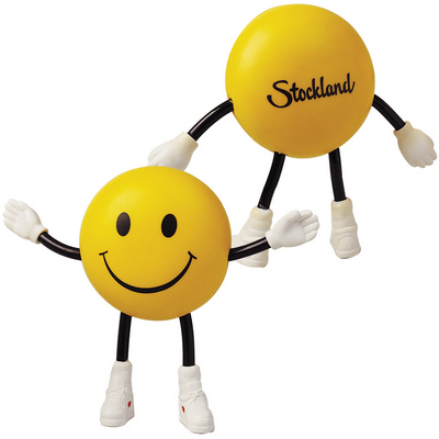 Picture of Smile Guy with Bendy Arms & Legs Stress