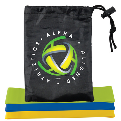 Picture of Stamina Resistance Bands in Drawstring P