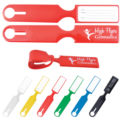 Picture of Shiny PVC Self Locking Luggage Tag