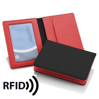 Picture of Deluxe ID Window Card Holder with RFID P
