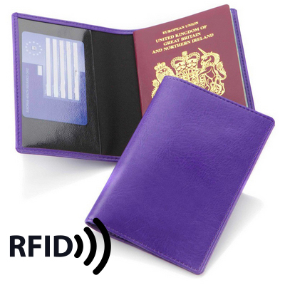 Picture of Economy Passport Wallet with RFID Protec