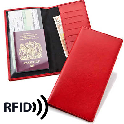 Picture of Travel Wallet with RFID Protection