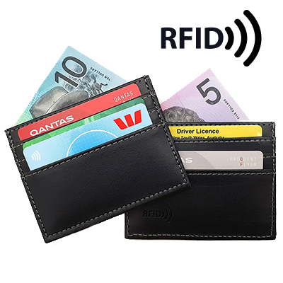 Picture of Credit Card Wallet with RFID Protection