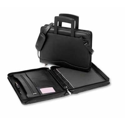 Picture of Executive Leather Ring Compendium with H