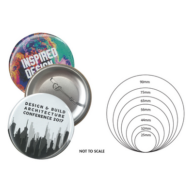 Picture of 75mm Button Badge