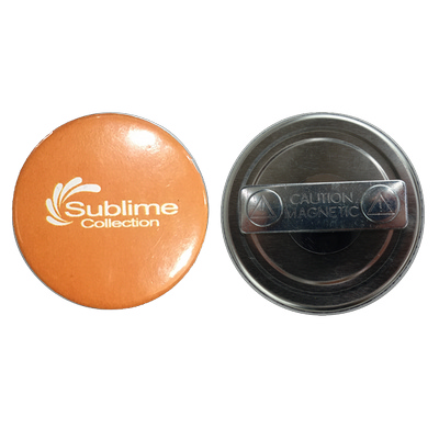 Picture of 58mm Button Badge Magnet Clip