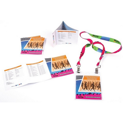 Picture of Tri Fold Name Tag Generic Program