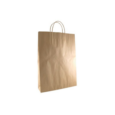 Picture of Medium Standard Brown Kraft Paper Bag Pr