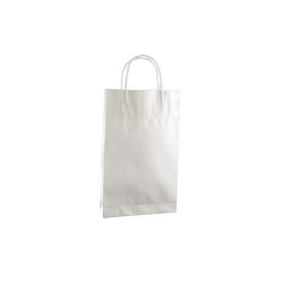 Picture of Baby Standard White Kraft Paper Bag Prin