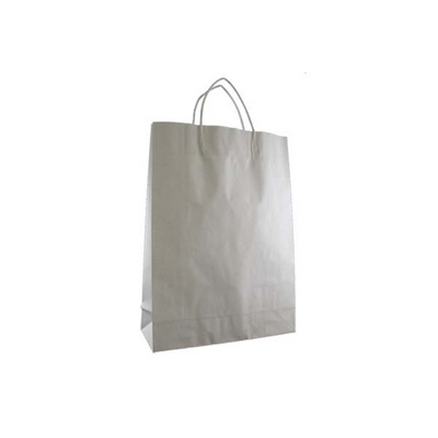 Picture of Midi Standard White Kraft Paper Bag