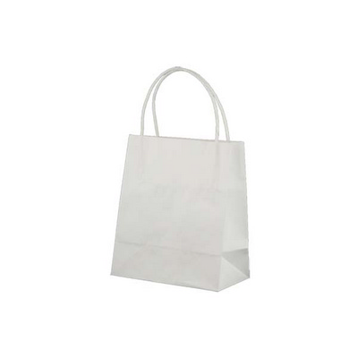 Picture of Toddler Standard White Kraft Paper Bag P