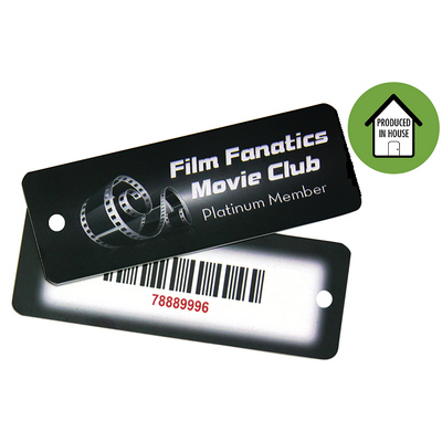 Picture of Plastic Key Tag Large Local
