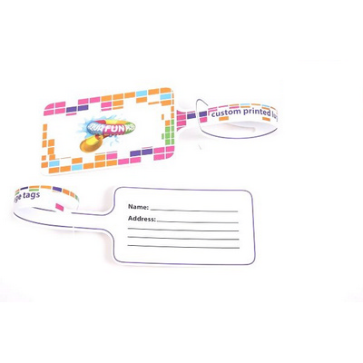 Picture of Laser Printed Never Tear Luggage Tags