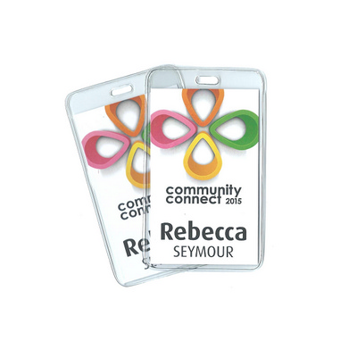 Picture of Heavy Duty Business Card Sized Badge Hol