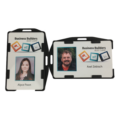 Picture of Rigid Black Double Sided Security ID car