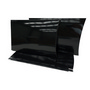 A4 Black Gloss Pillow Box with Gusset