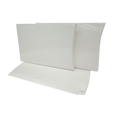 Picture of A4 White Gloss Pillow Box Printed