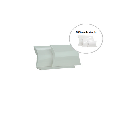 Picture of Small White Gloss Pillow Box