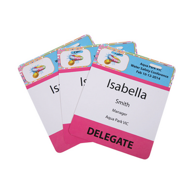 Picture of Pocketless Eco-Friendly 300GSM Name Tags