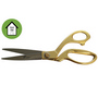 Ceremonial Gold Plated Scissors
