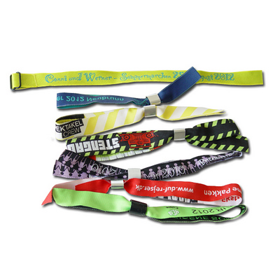 Picture of Fabric Wristbands Woven Indent
