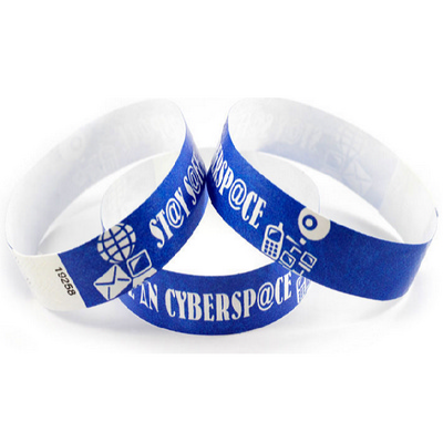 Picture of Tyvek Eziband Wristband - Cyberspace