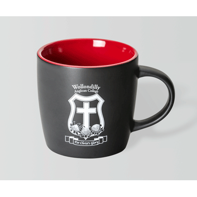 Picture of Boston Matt Black/Red Mug