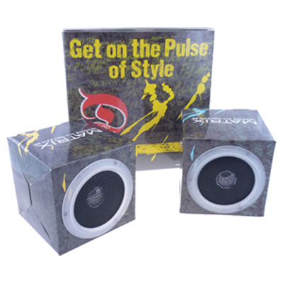 Picture of Cubic Foldable Speakers