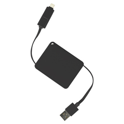 Picture of Brutus 2n1 Retractable Charge Cable (Sto