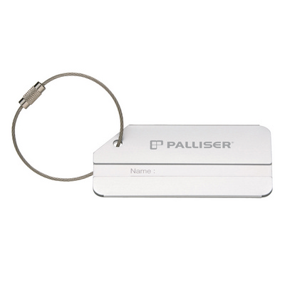 Picture of Brushed Aluminium Luggage Tag
