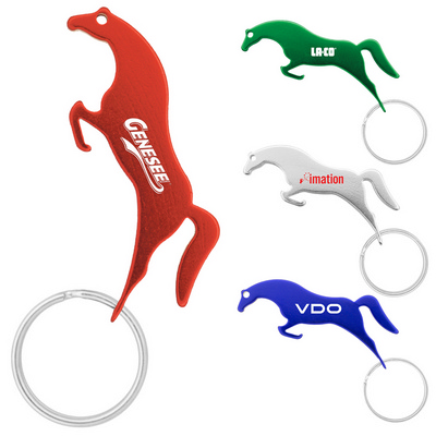 Picture of Jumping Horse Keychain