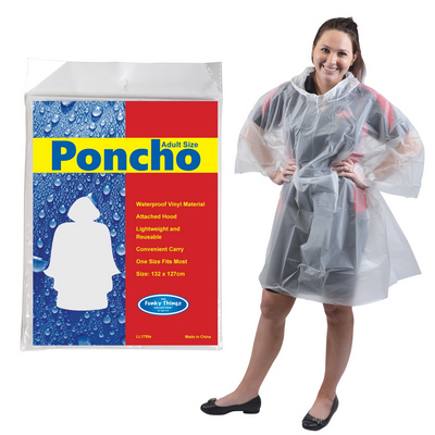 Picture of Reusable Poncho in Polybag