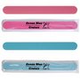 Pink / Blue Salon Size Emery Boards