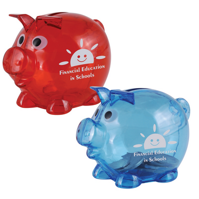 Picture of World's Smallest Pig Coin Bank