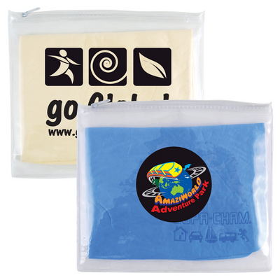 Picture of Supa Cham Chamois in PVC Zipper Pouch