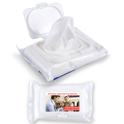 Picture of Anti Bacterial Wipes in Pouch