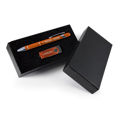 Picture of Style Gift Set - Miami Pen and Swivel Fl