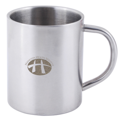 Picture of Stainless Steel Double Wall Barrel Mug
