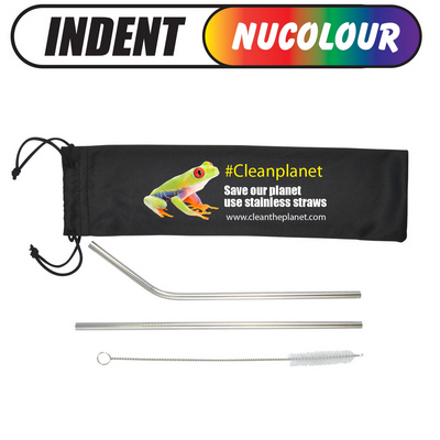 Picture of Stainless Steel Straws in Pouch