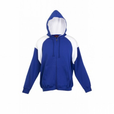Picture of Mens Should Contrast Panel Zip Hoodies