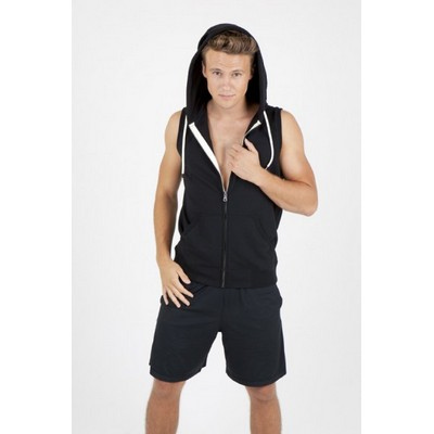 Picture of Mens Sleeveless Hoodie - Greatness Heath
