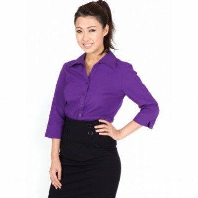 Picture of Ladies 34 Sleeve Shirts