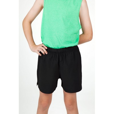 Picture of 4 Way Stretch Fabric Kids Shorts