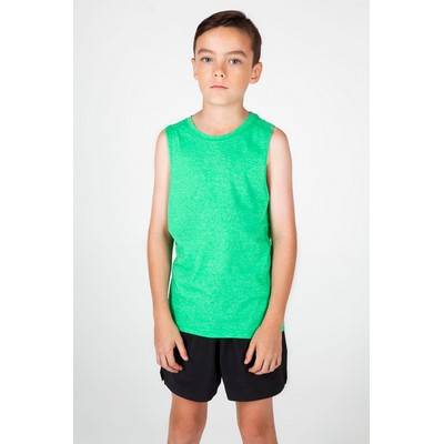 Picture of Kids Heather Sleeveless Tee - Greatness
