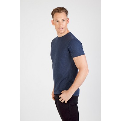 Picture of Mens Crew Neck Marl Tee