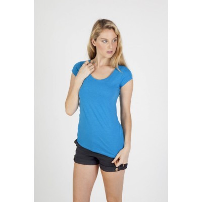 Picture of Ladies Scoop Neck Marl Tee