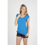 Ladies Scoop Neck Marl Tee