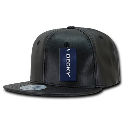 Picture of Faux Leather Snapback