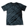 TIGER STRIPE TIE DYED T-SHIRT