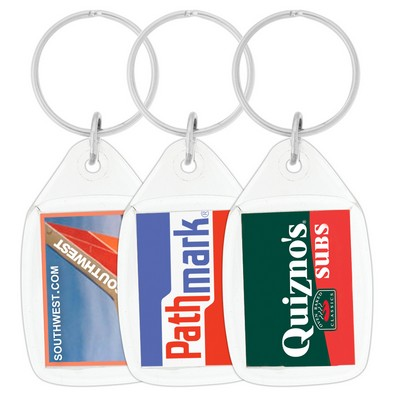 Picture of Tear Drop Acrylic Keychain
